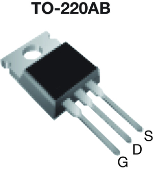 IRF510, SiHF510 Power MOSFET | Vishay